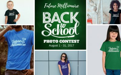 Announcing the Winner of our 'Back-to-School Future Millionaire' Photo Contest