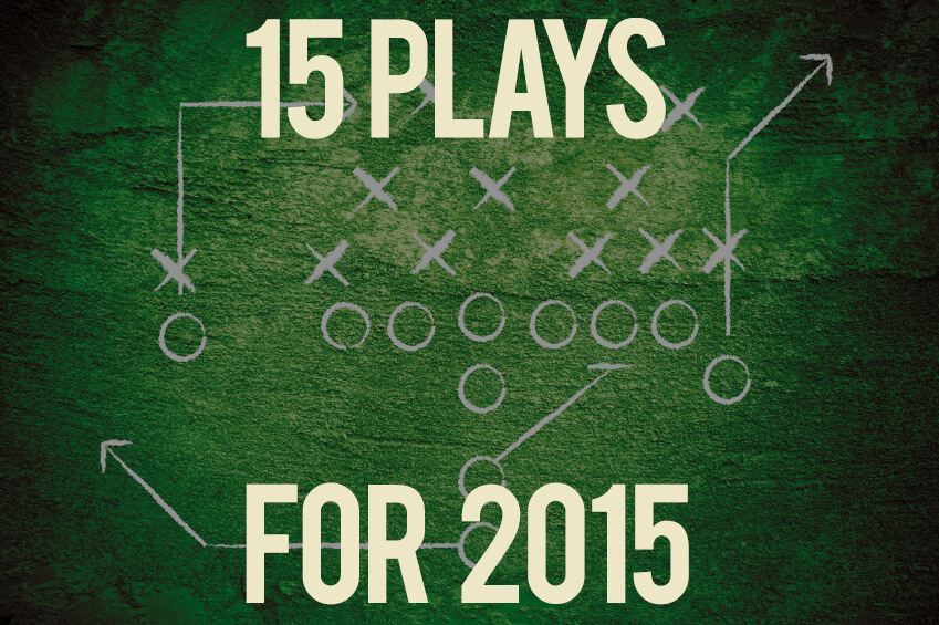 15 Plays to Financially Jumpstart 2015