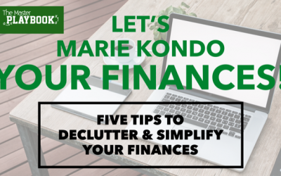 Five Tips To Declutter & Simplify Your Finances